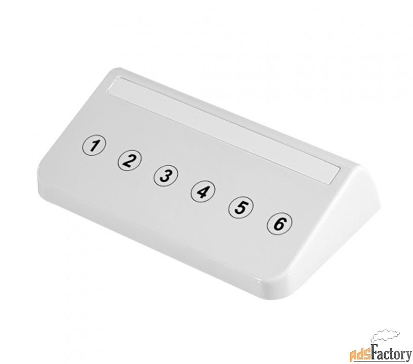 ct05w, кнопка сенсорная вызова официанта на кухню, цвет-белый