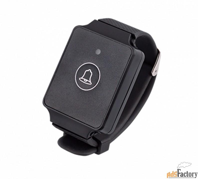 кнопка вызова персонала ew1, влагозащищенная наручная c браслетом