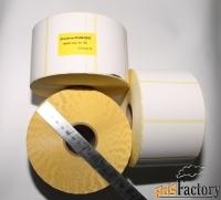 этикетки80х50 мм термочувствительные эко, 2000 шт, самоклеящиеся