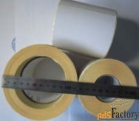 этикетки 94х80 мм полуглянцевые, 500 шт., самоклеящиеся