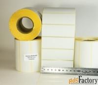 Этикетки85х30 мм термочувствительные ЭКО, 1000 шт., самоклеящиеся
