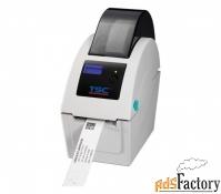 Принтер браслетов TSC TDP-225W, прямая термопечать, 203 dpi, USB+LAN+L