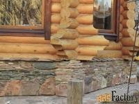 отделка натуральным и декоративным камнем