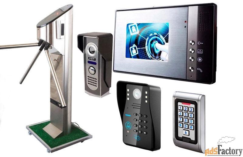 ремонт системы контроля и управления доступом