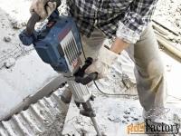 аренда (прокат) бетонолома - молоток отбойный bosch.