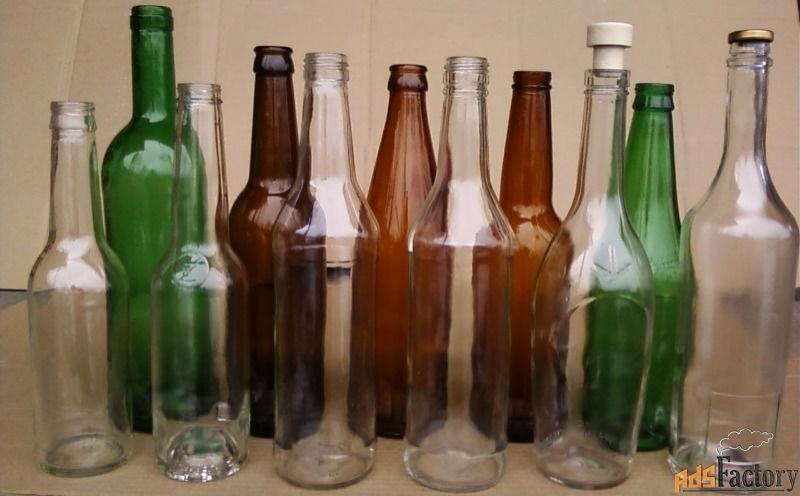 продажа стеклянных бутылок оптом