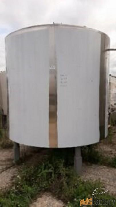 продается емкость нержавеющая, объем — 6,3 куб.м.