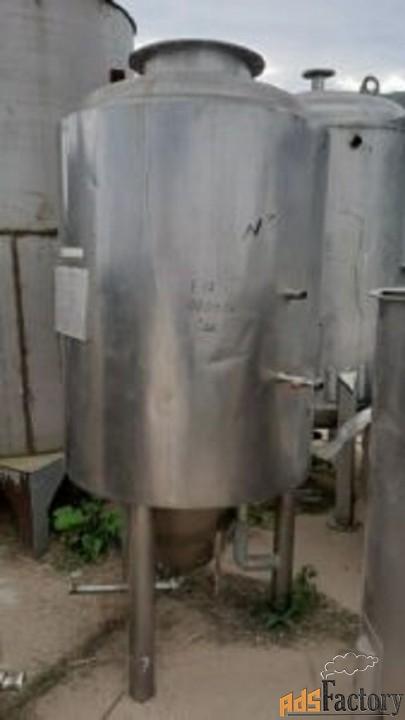 продается емкость нержавеющая цкт, объем — 0,8 куб.м