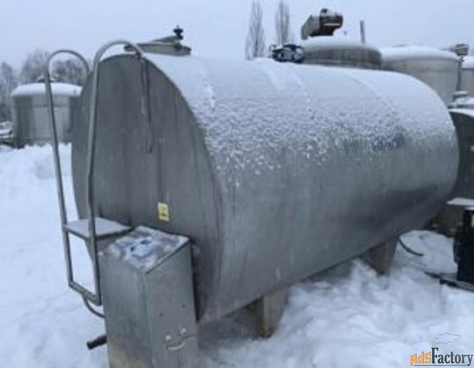 Продается Танк-охладитель, объем 6,5 куб.м.