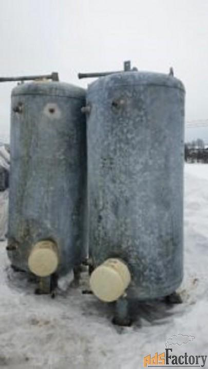 Продается Емкость стальная, объем 1 куб.м. — бойлер