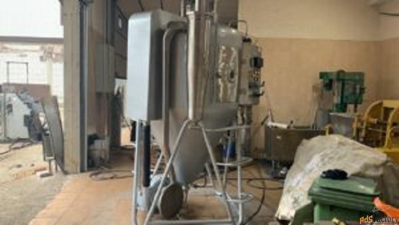 Продается Распылительная сушильная установка ЭВМ-01РЦ1,2-0,9НК-21,