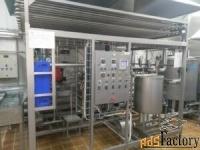 продается  пастеризационно - охладительная установка пу огу-1