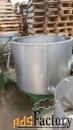 продается емкость нержавеющая, объем — 0,5 куб.м.