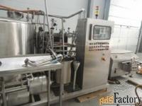 продается линия приготовления смеси мороженного, пр-ть 2000 кг/час