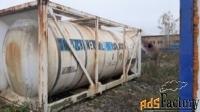 Продается Танк — контейнер нержавеющий, объем -21 куб.м