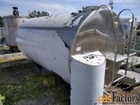 Продается Емкость нержавеющая (танк охладитель), объем — 5 куб.м.,