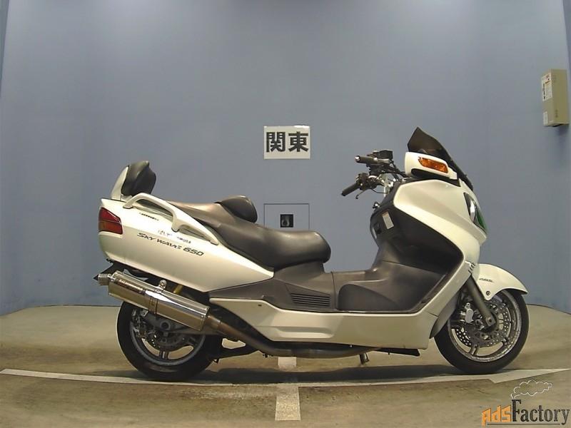 максискутер suzuki skywave 650 lx тип макси скутер класса «tourer»
