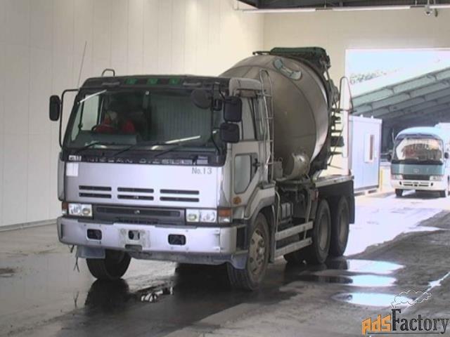 автобетоносмеситель nissan truck кузов cw520hn