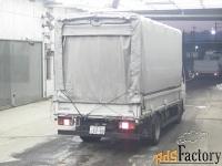 грузовик бортовой тентованный mitsubishi canter