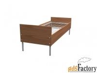 кровати металлические со сварной сеткой, кровати с прокатной пружиной