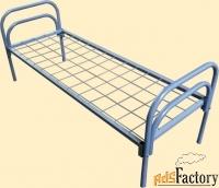 металлические кровати для хостелов, гостиниц, отелей оптом