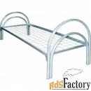 одноярусные кровати металлические от производителя