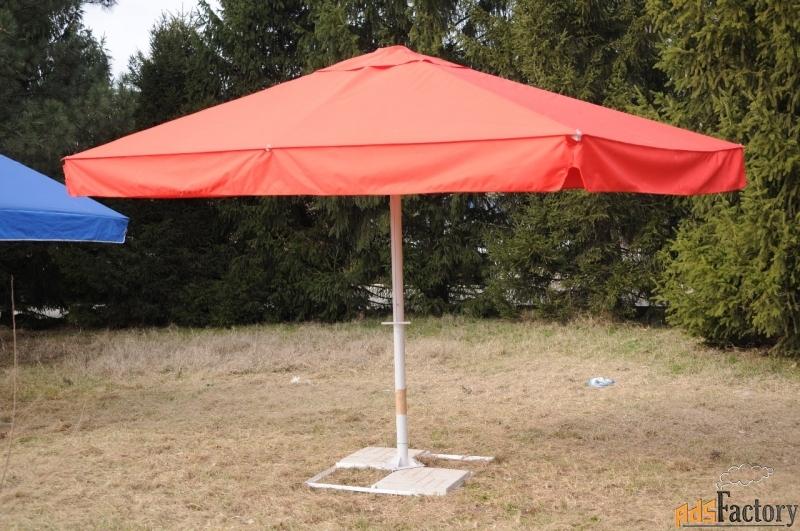 зонт прямоугольный 4х2,5 м. телескопический