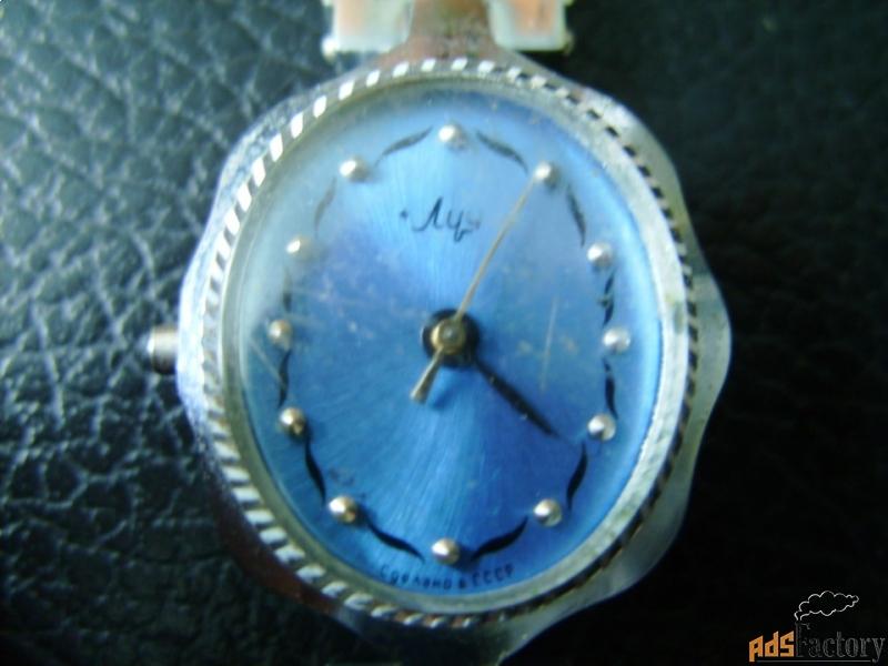 женские часы луч - ссср.