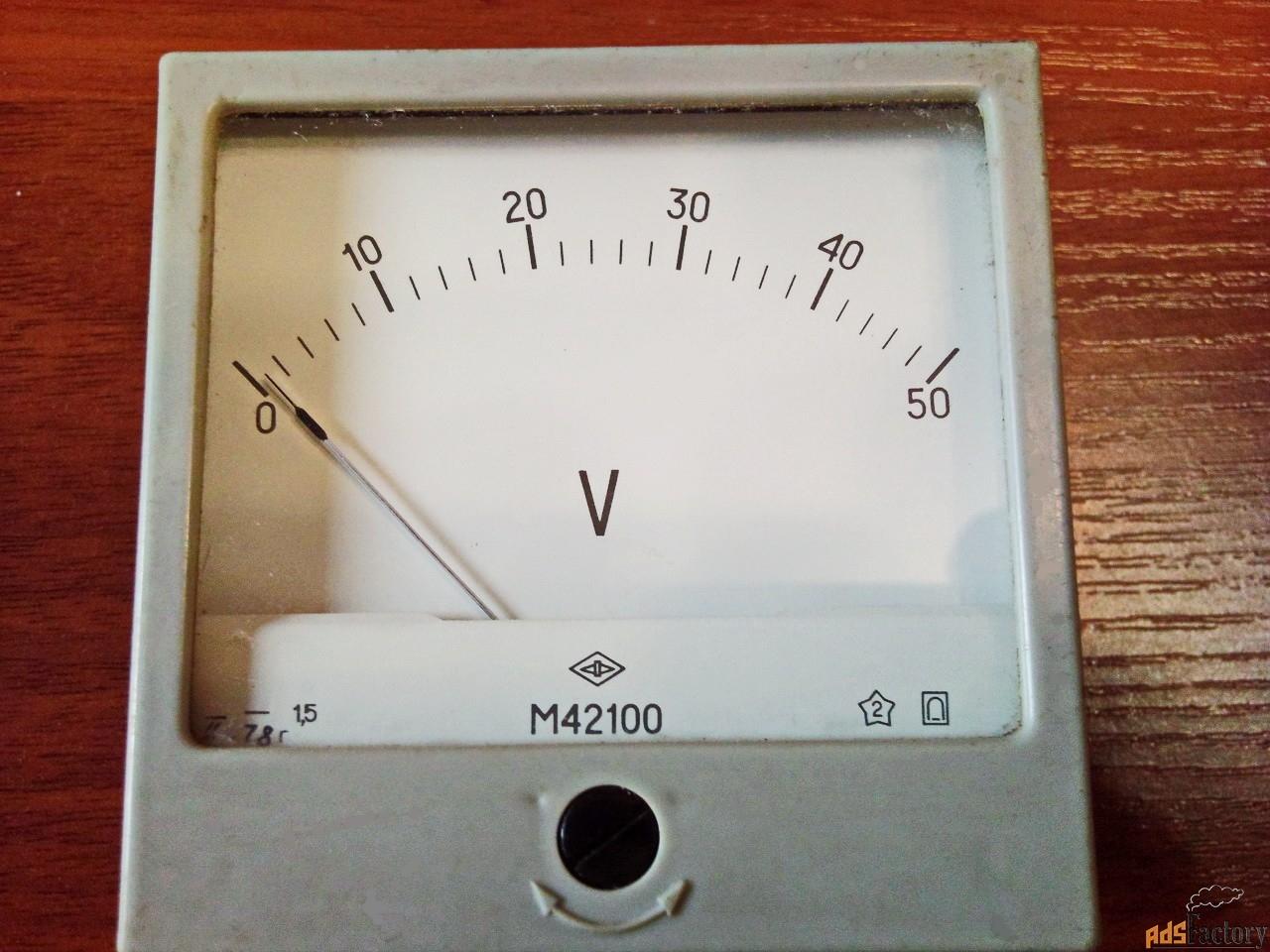 приборная измерительная головка м42100 (на 50v).