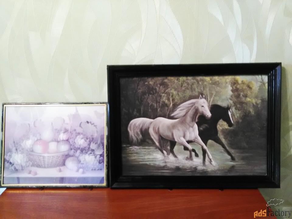Картины для интерьера, 2 шт.