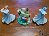 скульптурная композиция (дулево) 3 предмета.