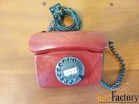 дисковый телефонный аппарат.