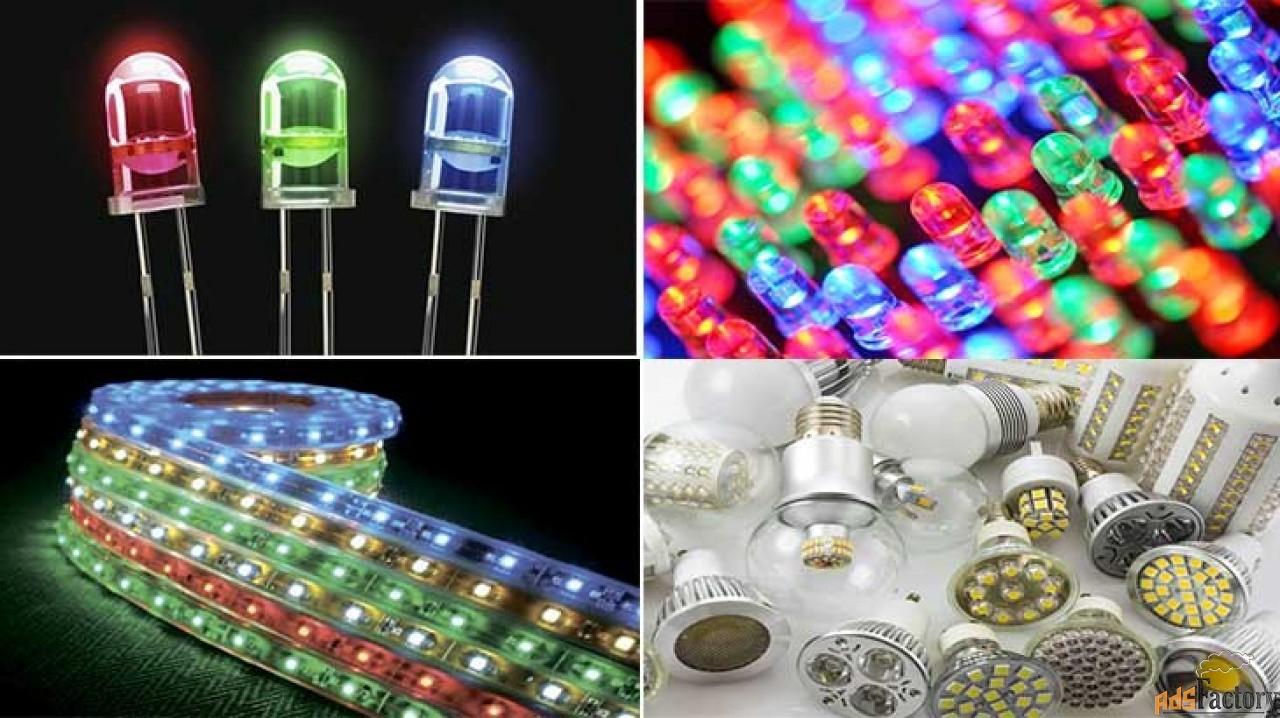 ремонт светодиодных светильников на 220 вольт своими руками