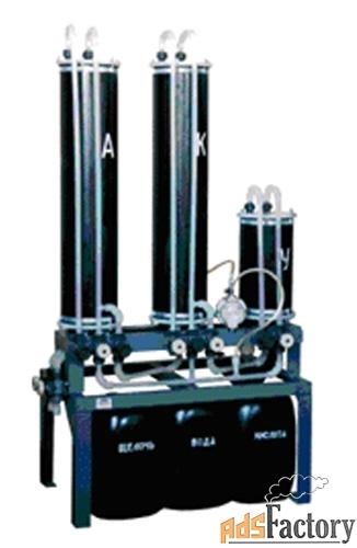 ио-1, ио-2 установка ионообменной очистки