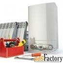 Монтаж котлов, водонагревателей, систем отопления