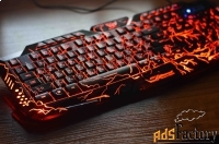 стильная клавиатура excelvan gamer.новая.гарантия