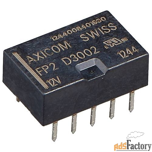 реле axicom swiss fp2 d3002 на 12 вольт