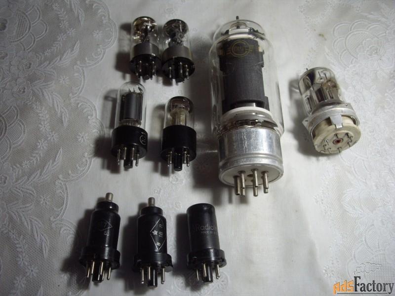 радиолампы гк-71 и гу-18-1