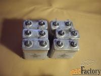 конденсаторы все новые  мбгч-1