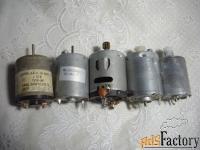 моторчики для радиолюбителей