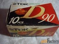 аудиокассеты  tdk производство япония