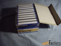 Аудиокассеты Sony Made in Japan