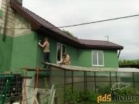 монтирует теплые фасады всех видов