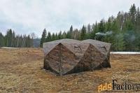 двухслойная палатка куб 4.40 «берег»