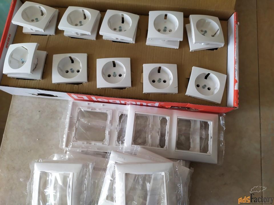 розетки выключатели фирмы legrand коллекция валена