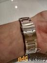 мужские часы amst с металлическим браслетом