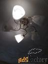 люстра на 5 ламп нов