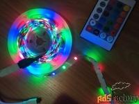 светодиодная лента разноцветная rgb 5метров