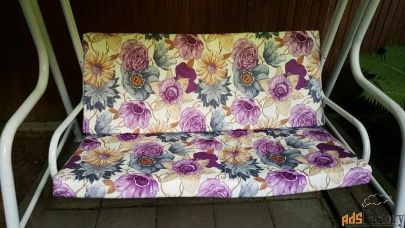 пошив чехлов и подушек для садовой мебели