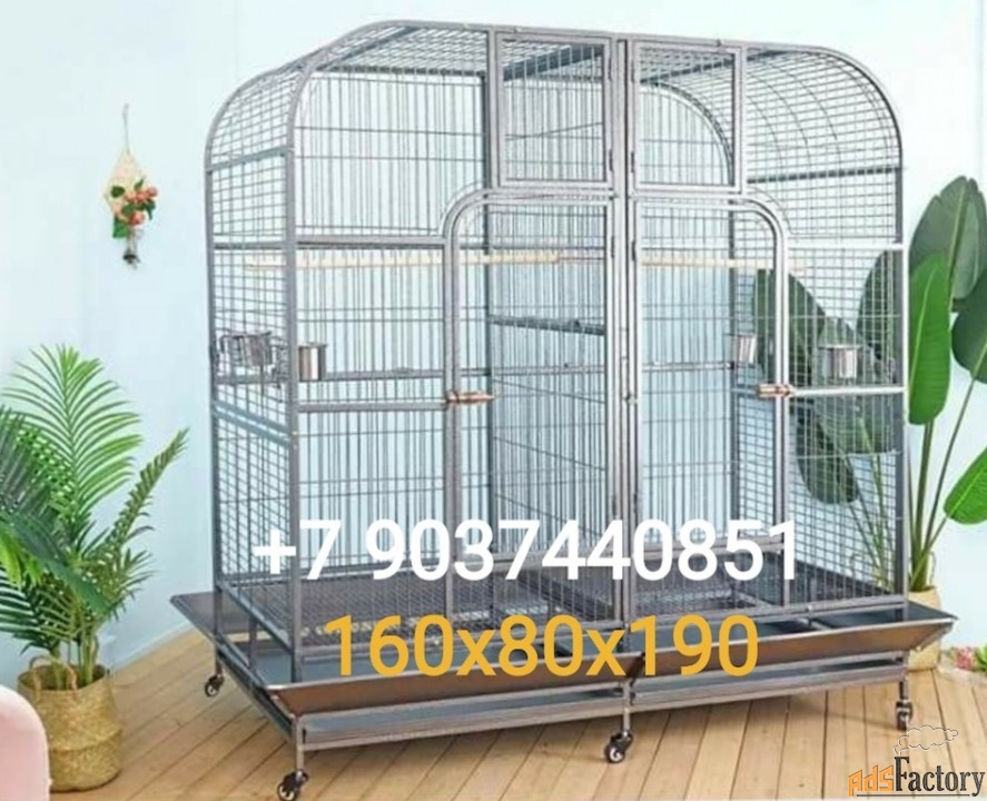 клетки для крупных видов попугаев из австрии